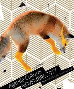 L'agenda culturel novembre 2017
