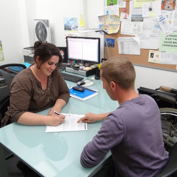 Un service dédié aux personnes en situation d'handicap