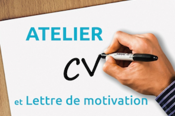 Atelier CV et lettre de motivation