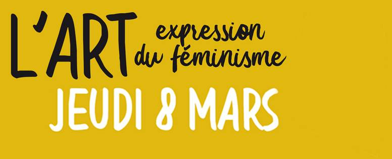 Café-débat :  « L'art, expression du féminisme »