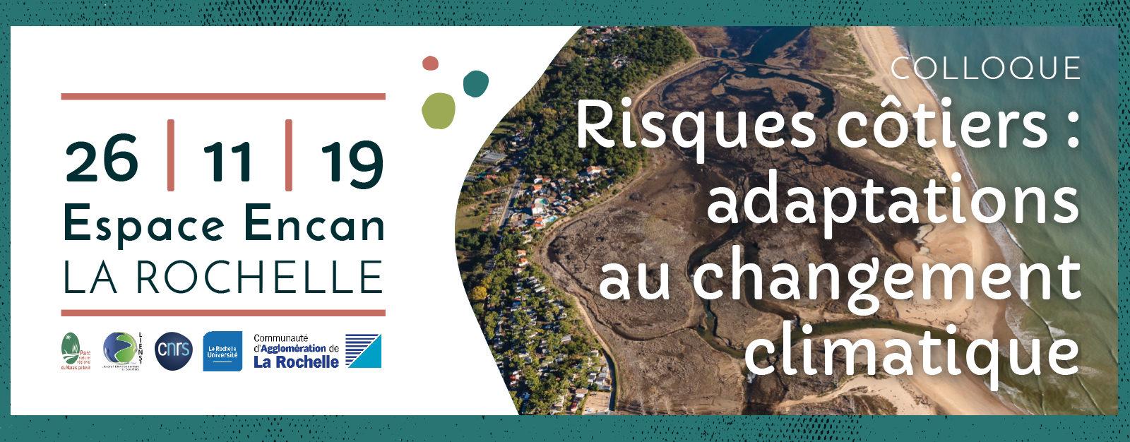 """COLLOQUE """"Risques Côtiers : adaptations au changement climatique"""""""