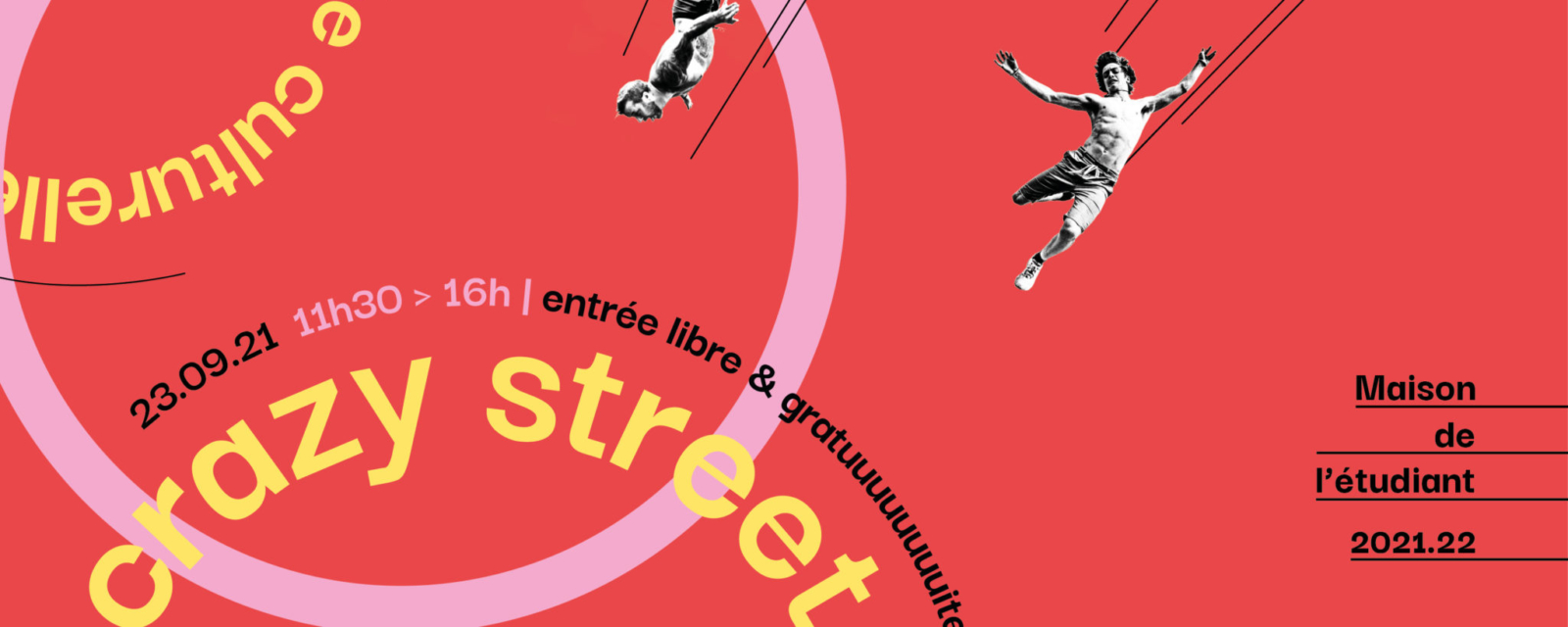 Crazy Street 2021, la rentrée culturelle et artistique !