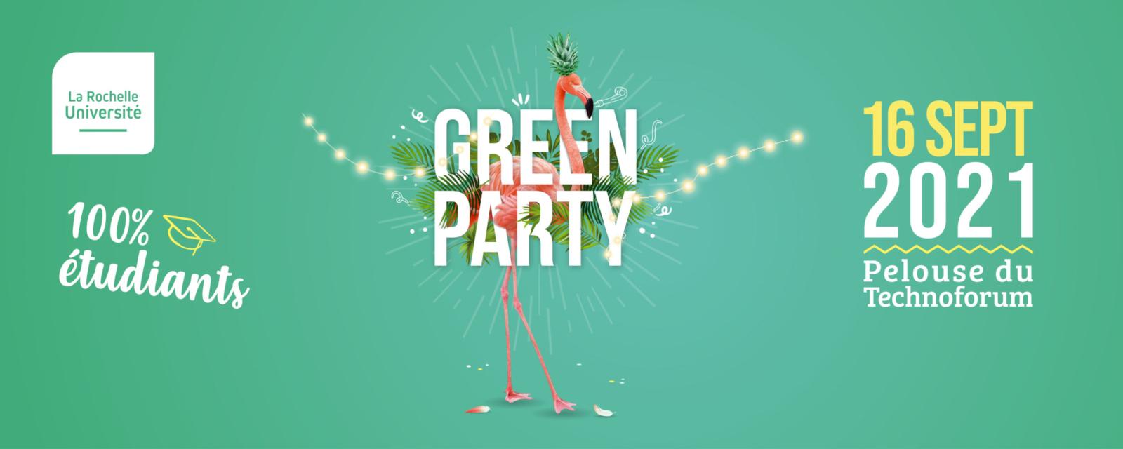 Green Party, une rentrée festive ! 1