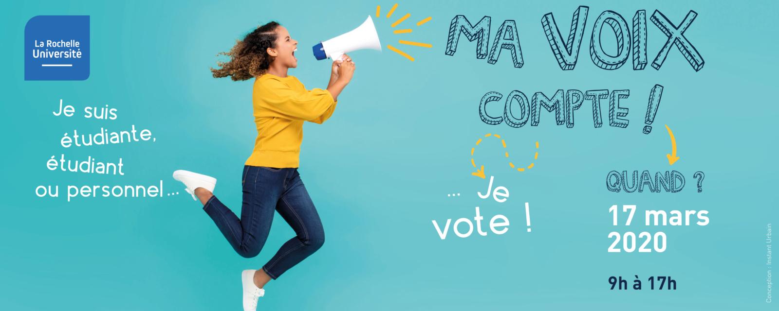 Je vote pour les élections du 17 mars 2020 1