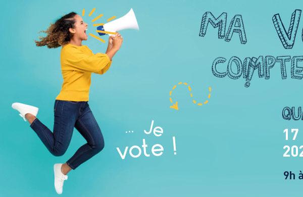 Je vote pour les élections du 17 novembre 2020 ! 1