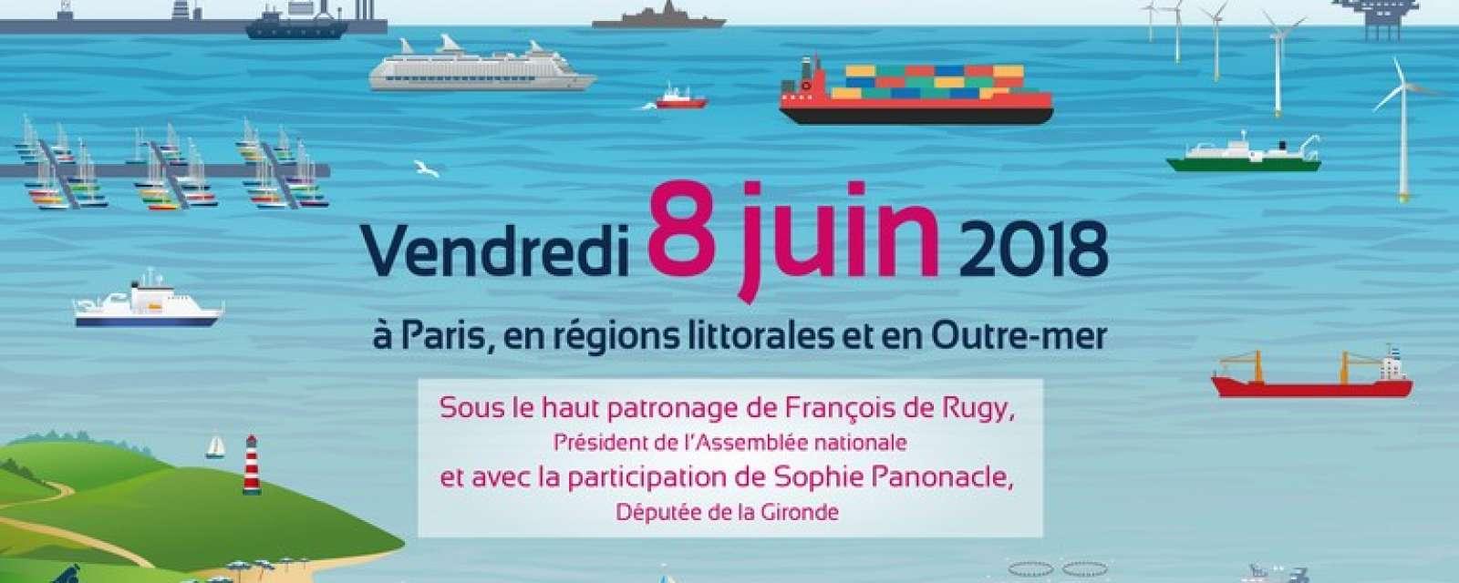 """Affiche """"Les elles de l'Océan"""" 2018"""