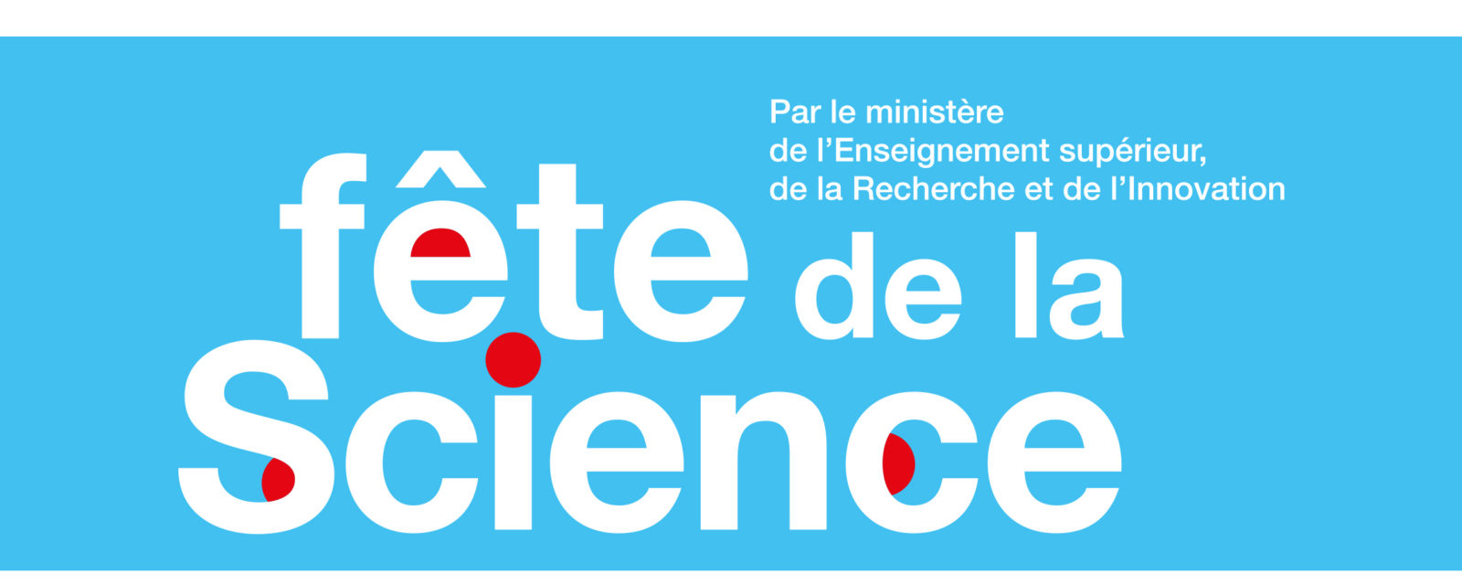 La Fête de la science 2019 :