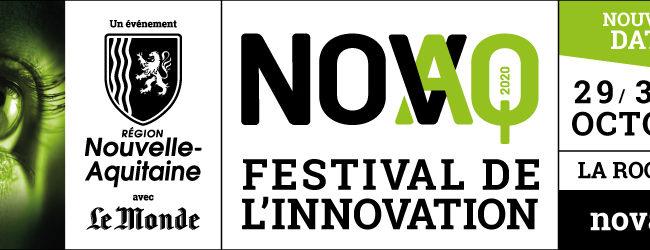 La Rochelle Université est partenaire du Festival de l'Innovation NOVAQ