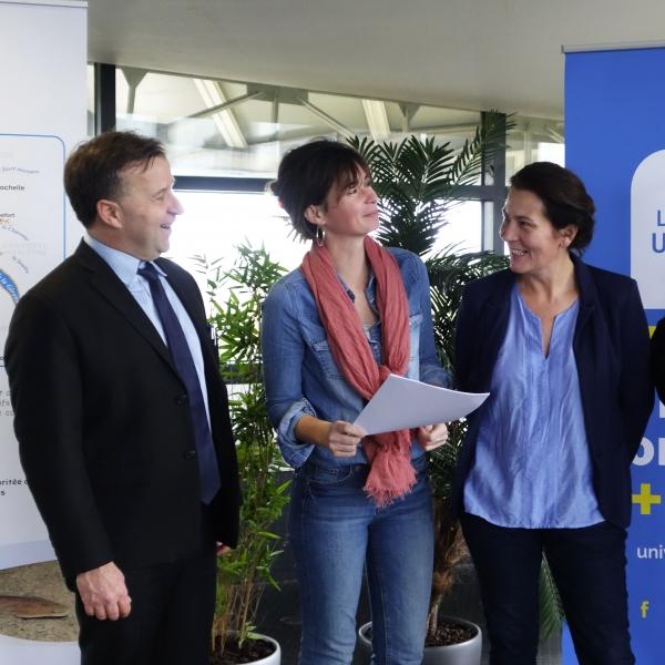 La Rochelle Université et le Parc naturel marin signent une convention de coopération