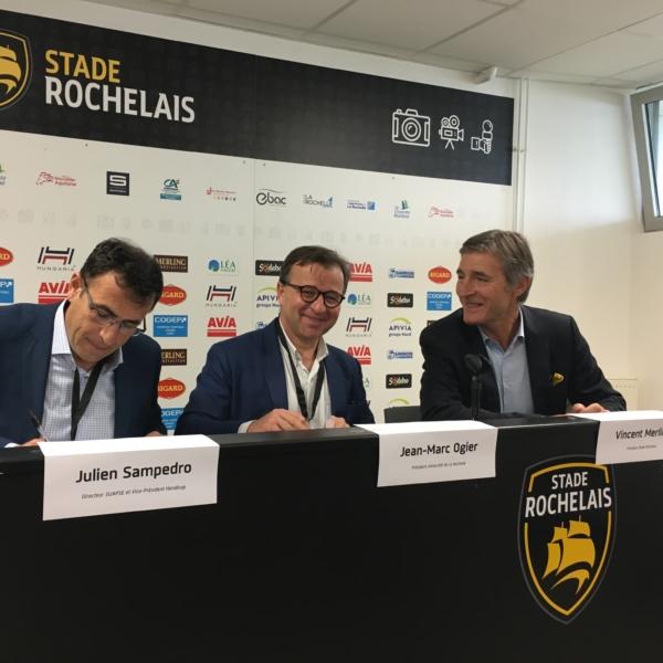 La Rochelle Université signe une convention avec le Stade Rochelais