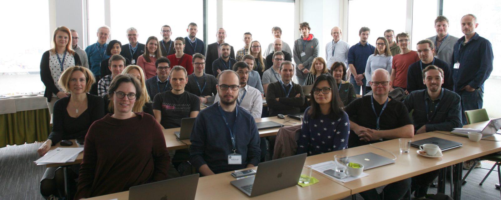 Rencontre des partenaires du projet européen EMBEDDIA à La Rochelle Université