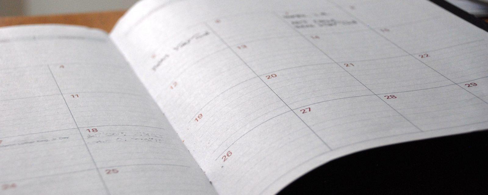 Retrouvez toutes les dates de rentrée 2018