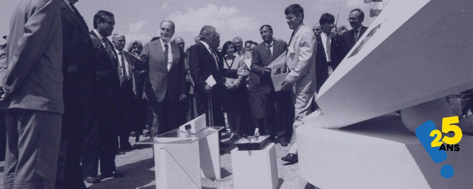 Revivez l'histoire de l'Université en exposition pour son 25e anniversaire