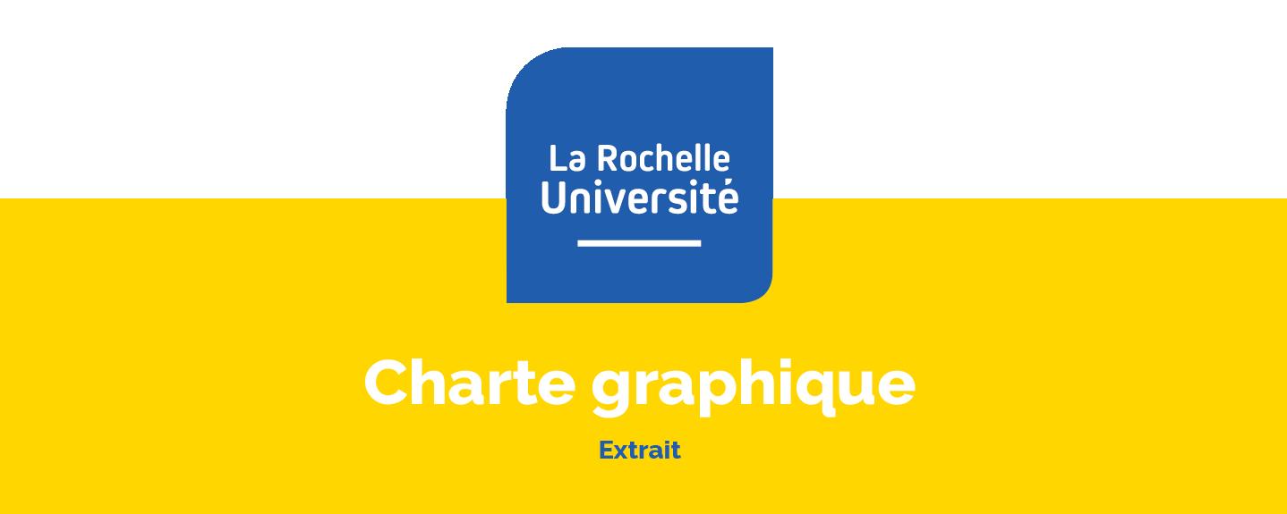 Charte graphique de La Rochelle Université