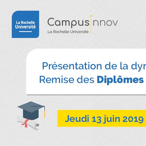De futurs entrepreneurs et entrepreneuses  diplômé·es à La Rochelle Université
