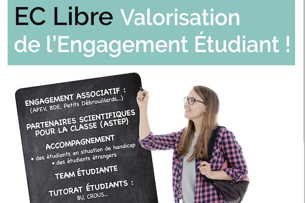 EC libre Valorisation de l'Engagement étudiant 2