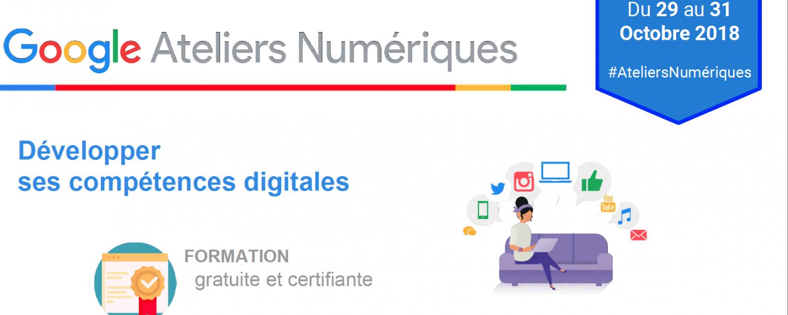 Google Ateliers Numériques à l'Université