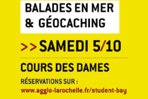 La Rochelle Student Bay Croisière + Géocatching 2