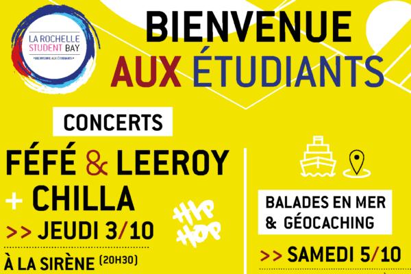 Retrait des places / Concert gratuit FÉFÉ & LEEROY