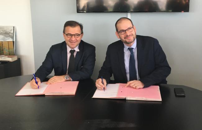 Signature d'un accord-cadre avec Port Atlantique La Rochelle 1